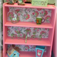Bubble Gum Pink Bookshelf