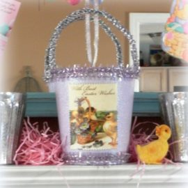Vintage Inspired Easter Decor