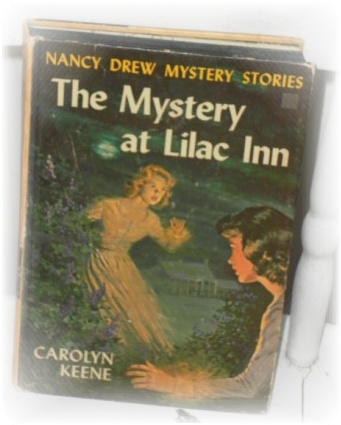 vintage 1961 nancy drew the mystery at lilac inn hardcover book. Black Bedroom Furniture Sets. Home Design Ideas