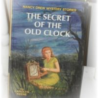 Vintage Nancy Drew The Secret Of The Old Clock Book