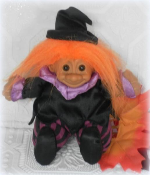 Vintage Witch Troll Doll