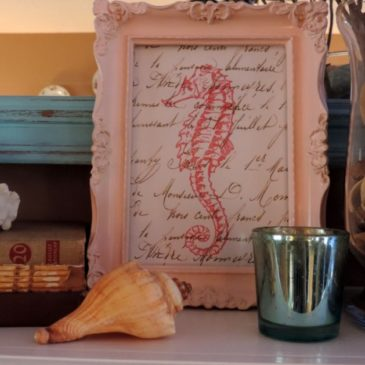 Decorating With Seashells and A New Blog Party
