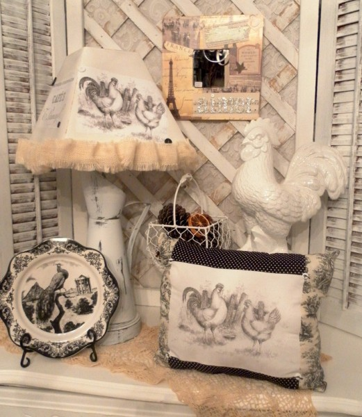 One Of A Kind Handmade French Country Cottage Decor