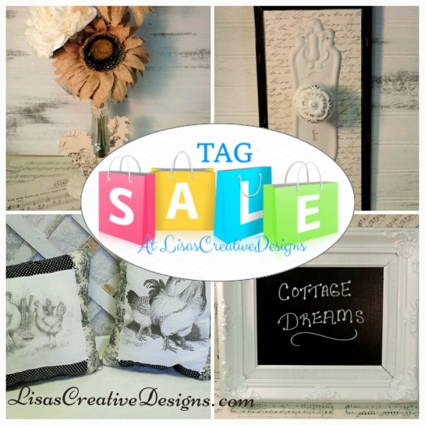Vintage and Shabby Chic Tag Sale