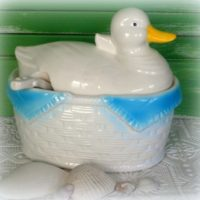 Vintage Japan Duck Soup Tureen