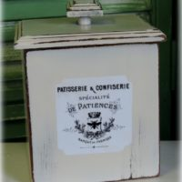 French Country Canister