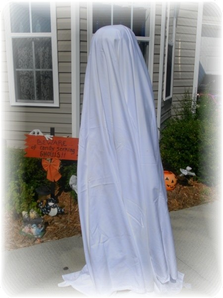 DIY Halloween Ghost Craft Project