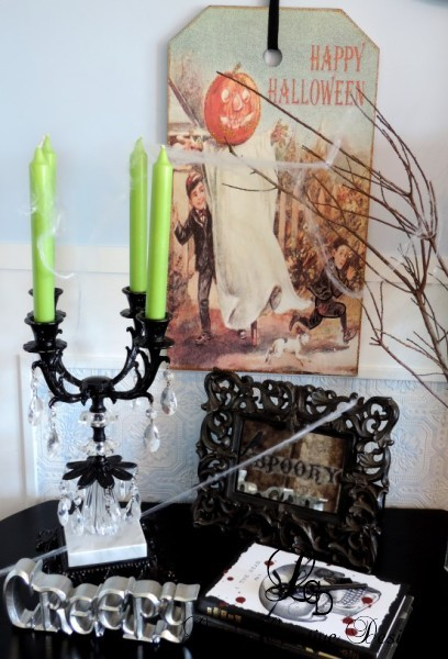 Upcycled Halloween Decor