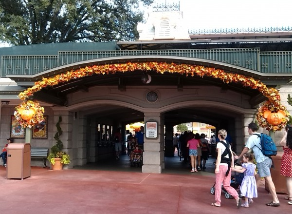 Disney Fall Decor Magic Kingdom