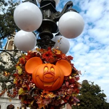 Disney World Decorated For Halloween and Fall