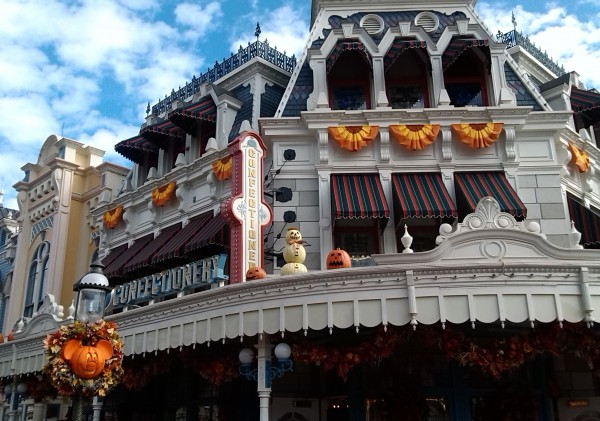 Disney World Decorated For Halloween