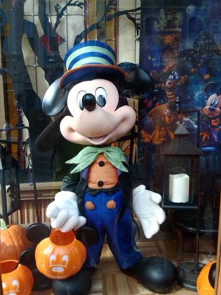 Disney World Mickey Halloween Shop Window