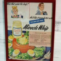 Vintage Retro Miracle Whip Magazine Ad