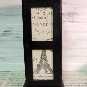 French Country Eiffel Tower Spice Cabinet