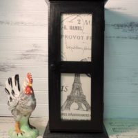 Country French Farmhouse Spice Cabinet