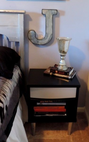 Thrift Store Night Stand Makeover