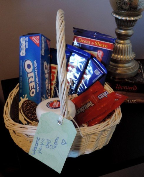Guest Welcome Gift Basket