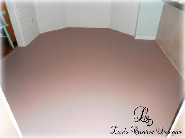 Paint An Old Laminate Floor