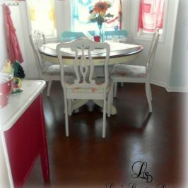 How To Paint An Old Laminate Floor, Yes It Can Be Done!