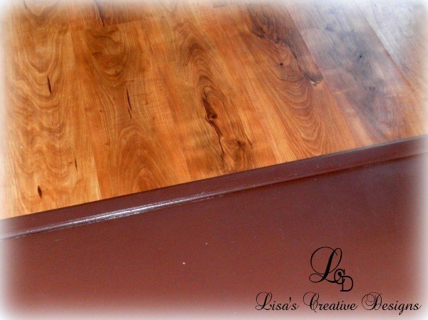 Yes You Can Paint An Old Laminate Floor Lisa 39 S Creative