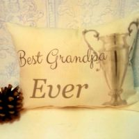Best Grandpa Ever Pillow