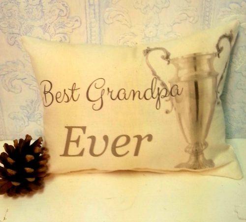 Best Grandpa Ever Pillow