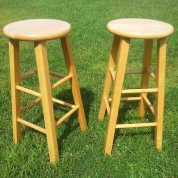 How To Dress Up Ordinary Kitchen Stools