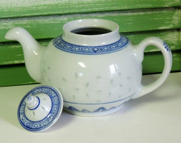 small vintage one cup teapot