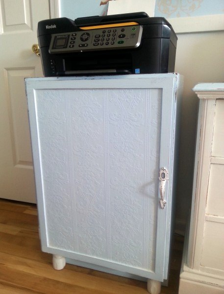 Upcycled Printer Cabinet