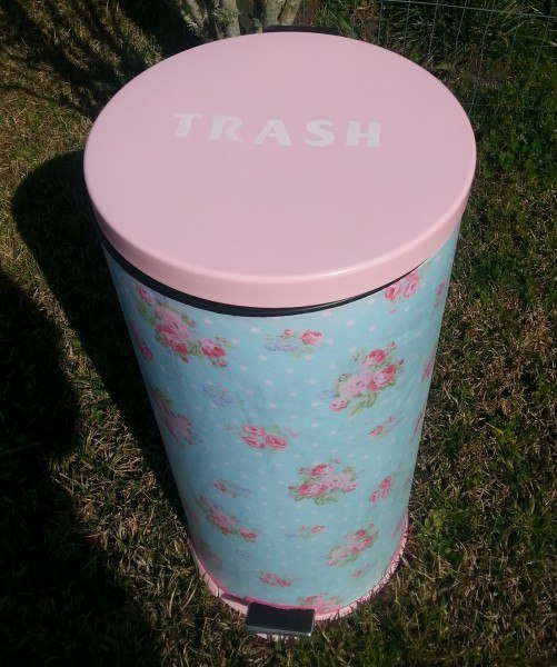 How To Make A Trash Can Pretty