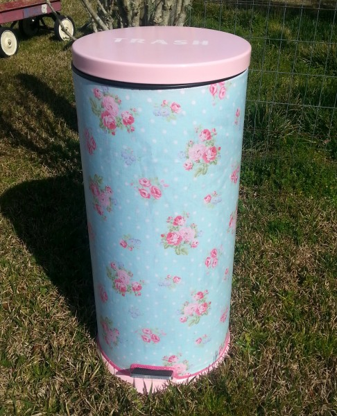 How To Make A Trash Can Pretty (5)