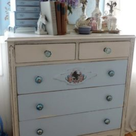 An Equine Inspired Antique Dresser Update