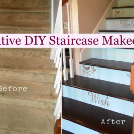 DIY Creative Staircase Makeovers