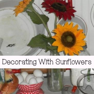 Decorating With Sunflowers…Pillows & Decor Ideas