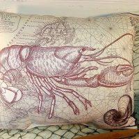 Handmade Lobster Pillow