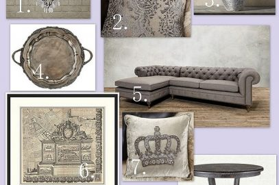 An Elegant Living Room Mood Board Inspired By Arhaus