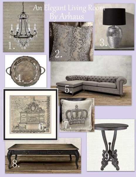 ARHAUS Living Room Mood Board