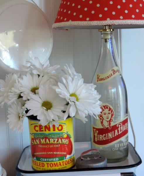 Clever Flowers Containers Upcycled Can Vase