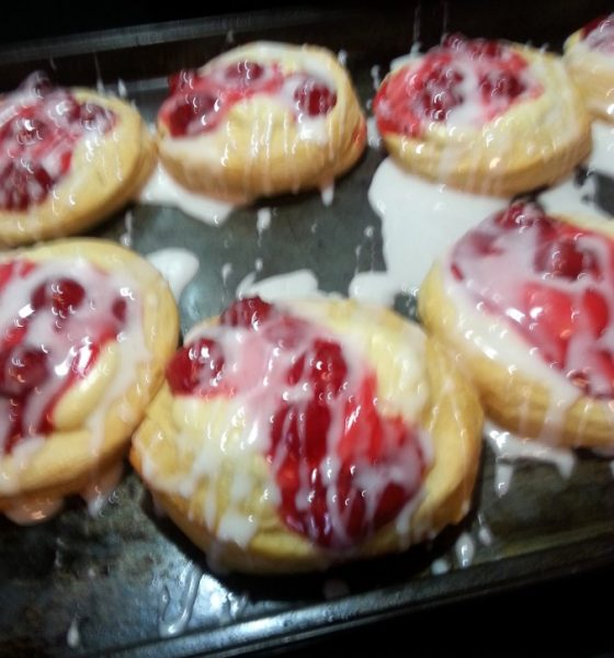 Easy Cherry Cheese Danish Recipe