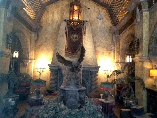 Hollywood Studios Tower Of terror Main Lobby