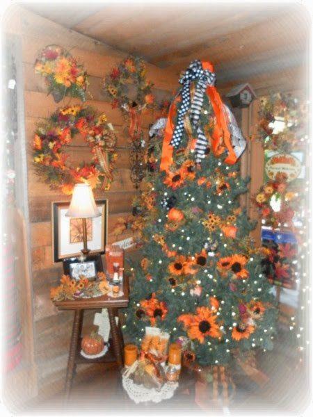 Autumn Christmas Tree