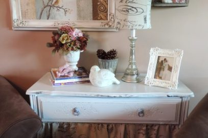 A Thrift Store Dresser Gets Another Makeover with a French Twist