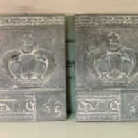 Gray Royal Crown Plaques Wall Decor