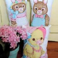 Handmade Easter Pillows