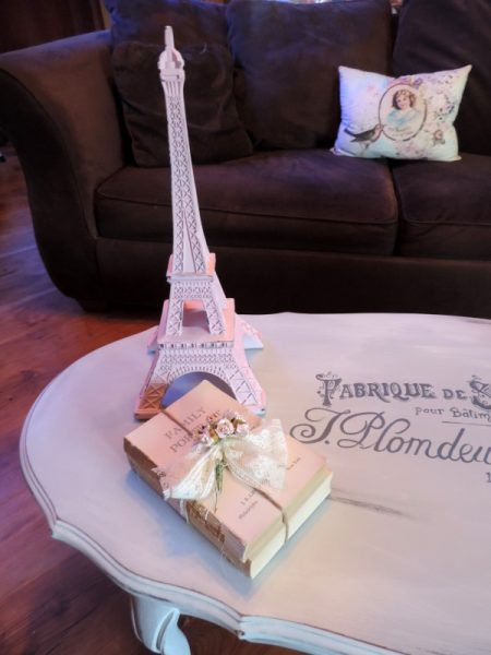 Paris Inspired French Provincial Coffee Table