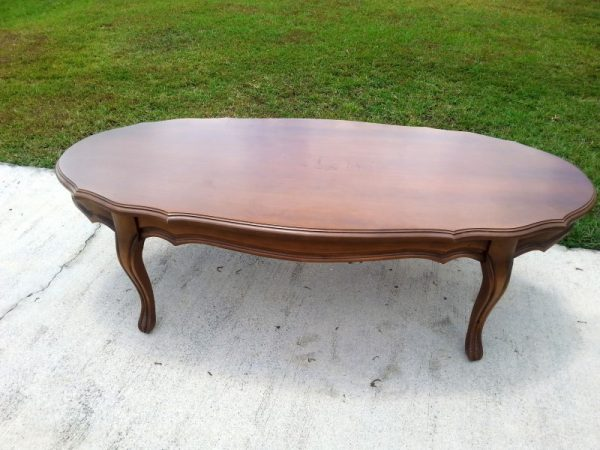 A Thrift Store French Provincial Coffee Table