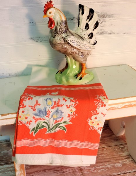 Retro Vintage Kitchen Towel