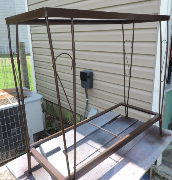 Painting An Old Fish Tank Stand