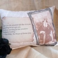 The Picture Of Dorian Gray Handmade Pillow