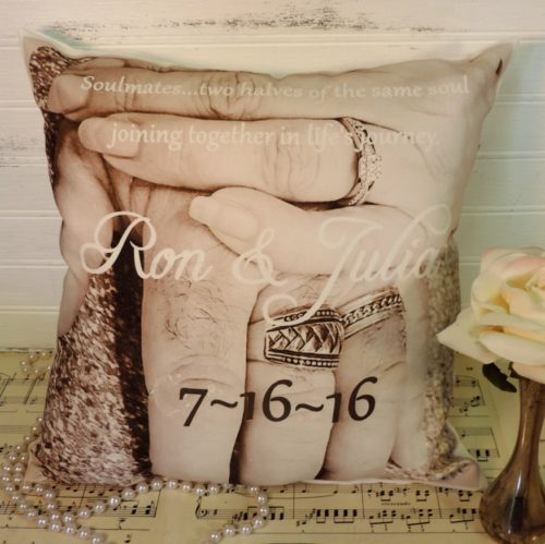 Wedding Photo Pillow